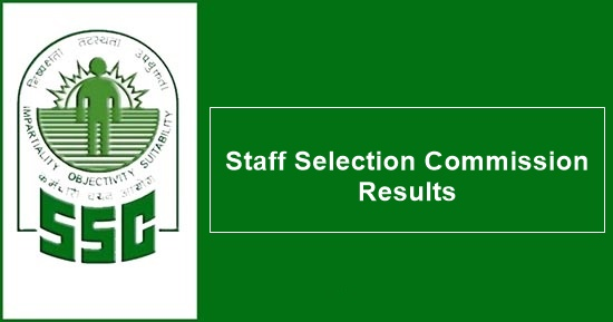 SSC CGL Tier 1 Result 2017 SSC results