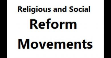 Socio Religious Reform Movements In India