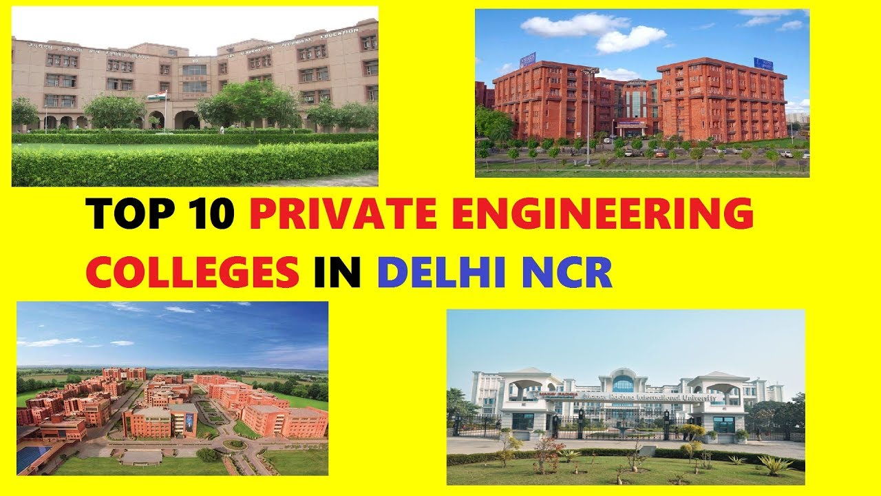 Top Engineering Colleges in Delhi-NCR, Best Engineering Institutes in Delhi-NCR