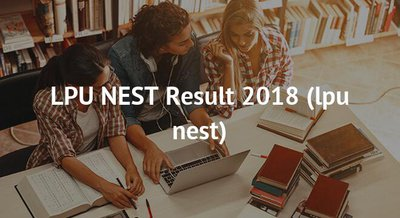LPU NEST Results 2018 – LPUNEST 2018 Result, Rank Cards Download Here