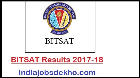 BITSAT Result 2018 | Cutoff & Merit List, Dates, Counselling