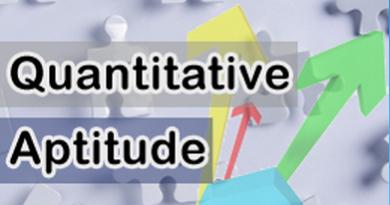 Quantitative Aptitude - Average Problems