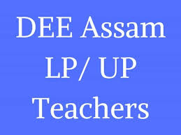 DEE Assam Recruitment 2018- Apply 5393 Lower Primary Teacher Post