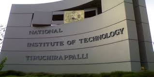 NIT Tiruchirappalli Recruitment 2018