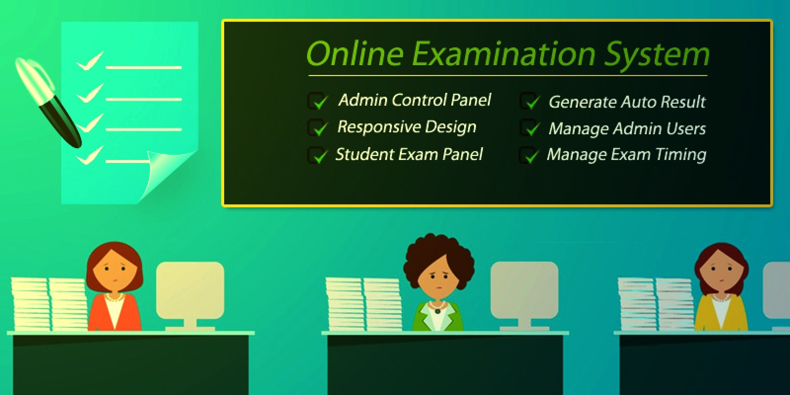 What is Online Examination System