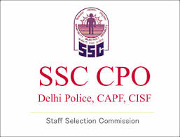 SSC CPO Recruitment 2018