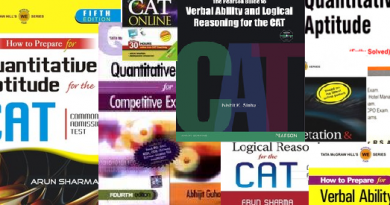 Books for CAT Exam