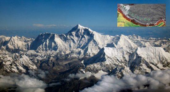Himalayas Mountain Ranges in India