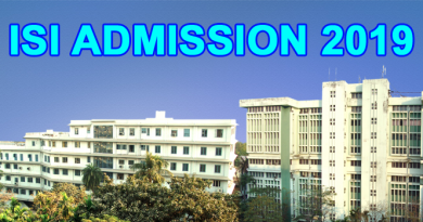 ISI Admission Test 2019