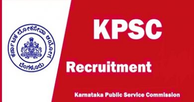 KPSC Recruitment 2019