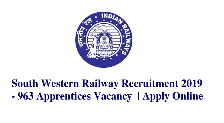 South-western-railway-recuitment 2019