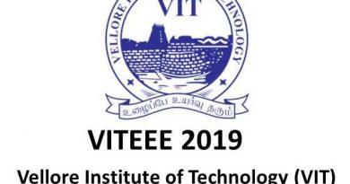 VITEEE 2019