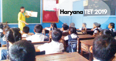 Haryana TET 2019