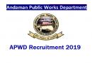 APWD Recruitment 2019