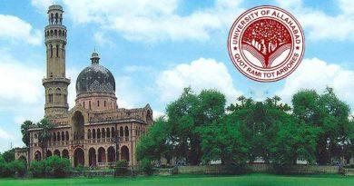 Allahabad University PGAT 2019