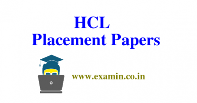 HCL Placement Paper | Technical round questions