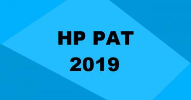 HP PAT 2019