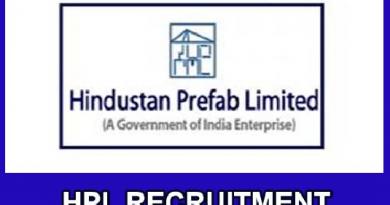 HPL Recruitment 2019