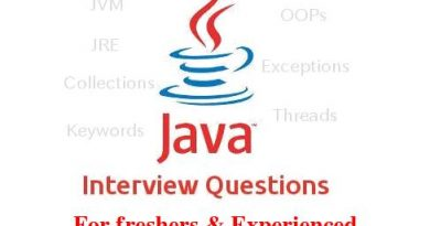 Java interview questions and answers for freshers| pdf