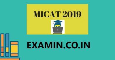 MICAT 2019