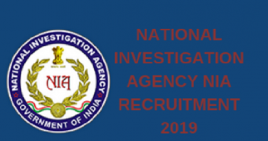 NIA Recruitment 2019