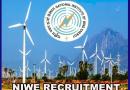 NIWE Recruitment 2019