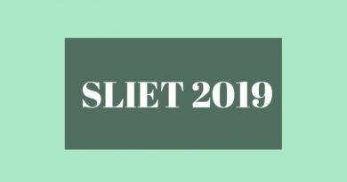 SLIET SET 2019