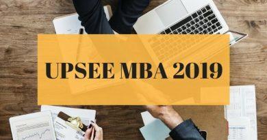 UPSEE MBA 2019