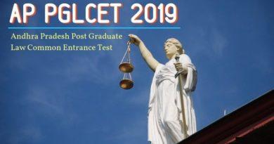 AP PGLCET 2019