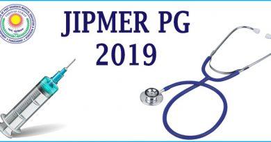 JIPMER PG 2019