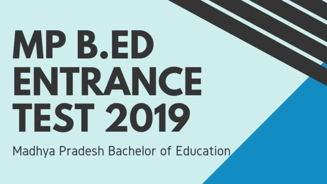 Mp Pre Bed 2019 Exam Dates Application Form Syllabus Pattern