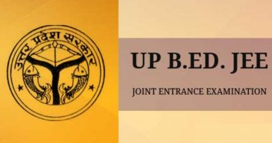 UP BEd JEE 2019