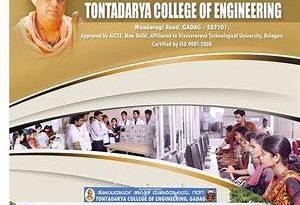 Tontadarya college of Engineering