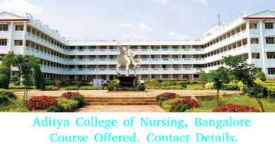 Aditya College of Nursing, Bangalore