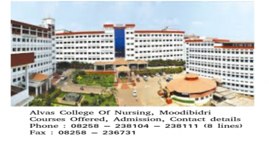 Alvas College Of Nursing Sciences