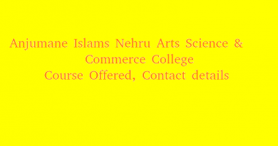 Anjumane Islams Nehru Arts Science & Commerce College