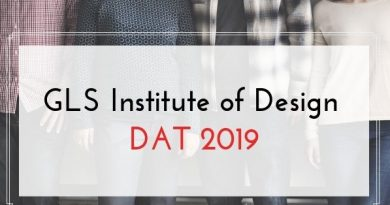 GLS Institute of Design Dat 2019