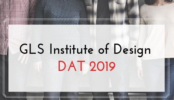 GLS Institute of Design Dat 2019