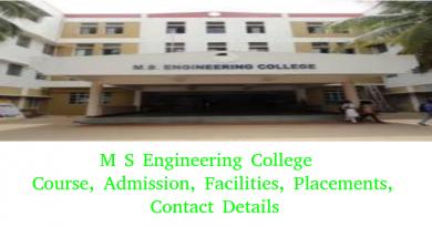 M S Engineering College