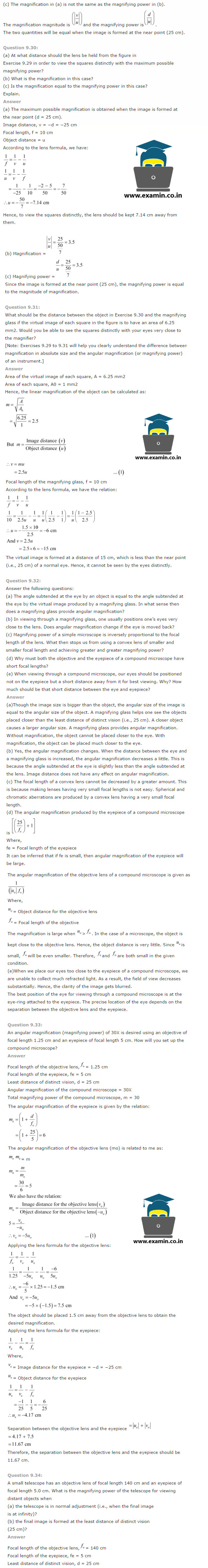 NCERT Solutions Class 12 Physics Chapter 9