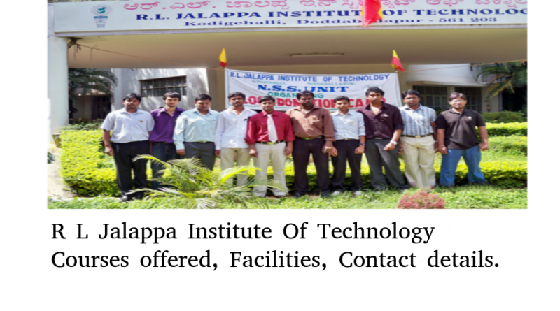 R L Jalappa Institute Of Technology
