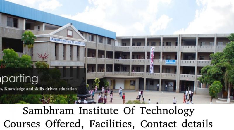 Sambhram Institute of Technology