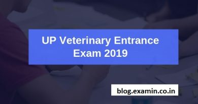 UP Veterinary Entrance Exam 2019
