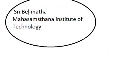Sri Belimatha Mahasamsthana Institute of Technology
