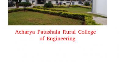 Archarya Patashala Rural College of Engineering