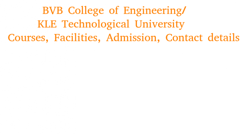 BVB College of Engineering