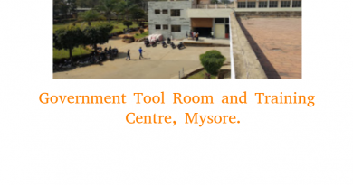 Government Tool Room and Training Centre, Mysore