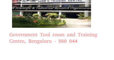 Government Tool room and Training Centre, Bengaluru