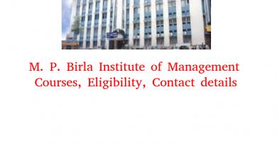 M. P. Birla Institute of Management
