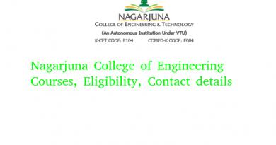 Nagarjuna College of Engineering & Technology